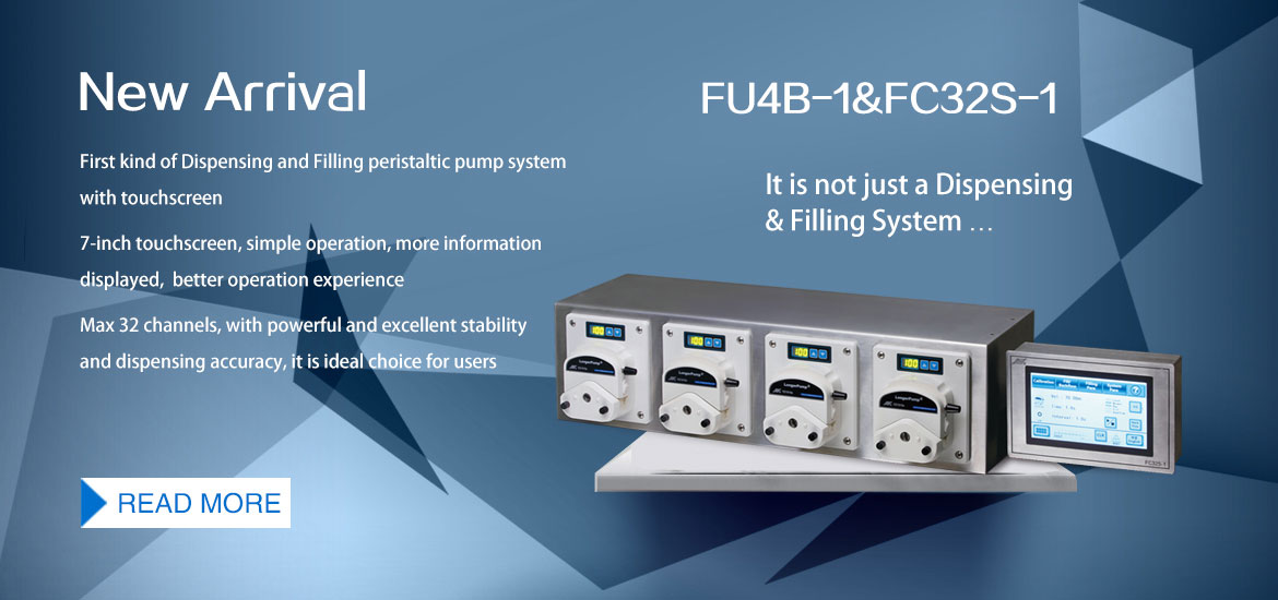 New Arrival First kind of Dispensing and Filling Peristaltic Pump:Fu4B-1&FC32S-1